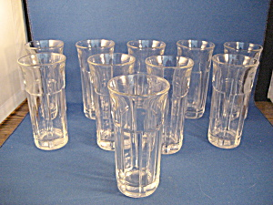 Ten Libbey Liquor Glasses