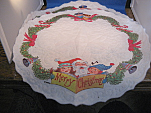 Two Merry Christmas Table Cloth