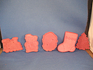 Five Detailed Cookie Cutters