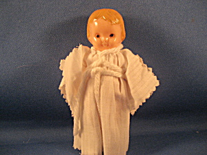 Celluloid Blonde Angel Doll
