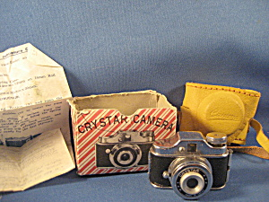 Crystar Miniature Or Spy Camera