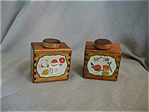 Woodpecker Products Salt And Pepper Shakers