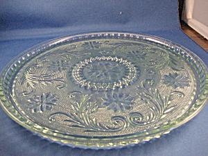 Vintage Tiara Green Tray (Image1)