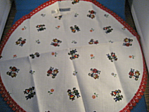 German Theme Dresser Scarf
