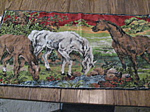 Tapestry Of Horses