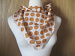 Reversible Polka Dot Scarf