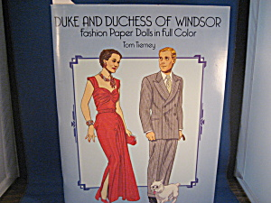 Duke And Duchess Of Windsor Paper Dolls