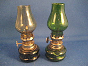 Two Miniature Lamps
