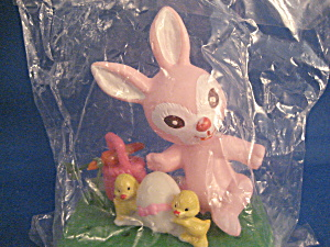 Bunny And Chick Cake Decoration