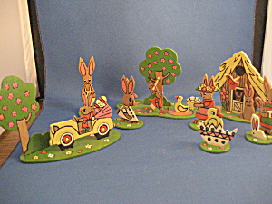 Hand Painted Easter Gathering
