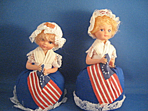 Two Betsy Ross Dolls