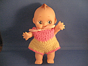 Cupie Doll With Crocheted Outfit