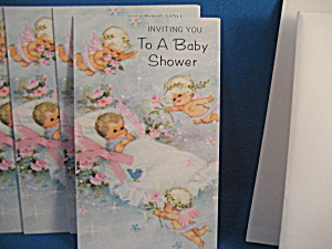 Inviting You To A Baby Shower Invitation.