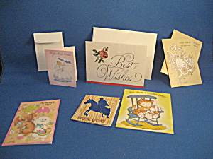 Mixture Of Miniature Vintage Greeting Cards