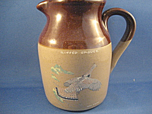 Painted Ned Smith Pearson Pottery Pitcher