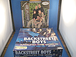 Backstreet Boys Around The World Game And Picture