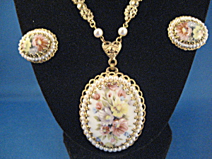 Necklace And Earring Set From West Germany