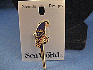 Sea World Parrot Pin