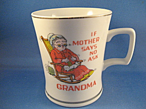 """if All Else Fails, Ask Grandpa"" Cup"
