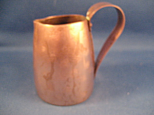 Copper Miniature Pitcher