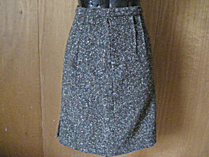 Tweed Wool Skirt
