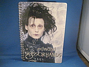 Edward Scissorhands Notebook