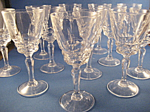 Twelve D'arques Cristal D Arques Liquor Glasses