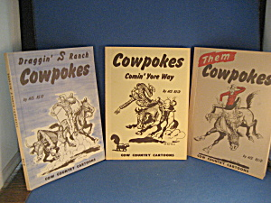 Cowpokes Cartoon Books By Ace Reid