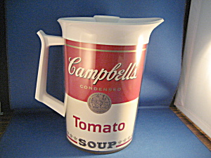Campbell's Soup Pitcher