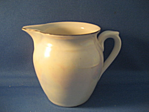 Syrup Pitcher Made In Czechoslovakia