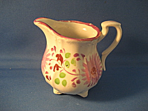 Flowered Syrup Pitcher