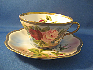 Rose Cup And Saucer Set