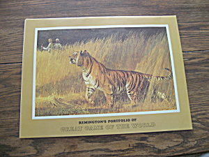 Remington's Portfolio Of Great Game Of The World