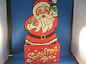 Santa Holiday Mail Holder