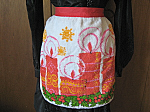 Christmas Towel Apron