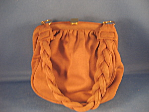 Brown Cloth Purse
