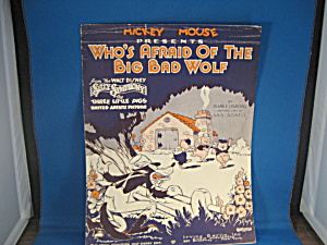 Mickey Mouse Presents Who's Afraid Of The Big Bad Wolf