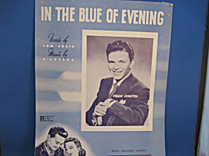 In The Blue Of Evening Sheet Music