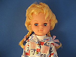 Vintage Sailor Doll