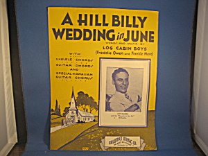 A Hill Billy Wedding In June