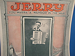 Jerry, You Warra A Warrior In The War