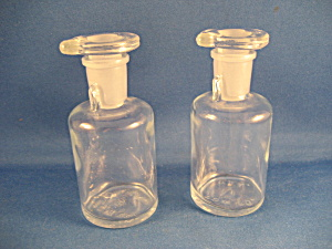 Old Drip Drop Laboratory Bottles