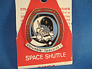 Official Columbia Spacelab 1 Pin