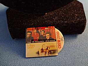 Nsync And Britney Spears Mcdonald Crew Pin