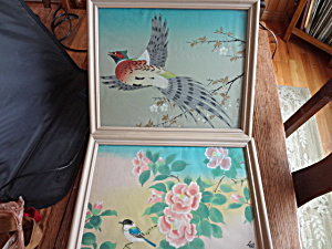 Painted Silk Screen Pictures