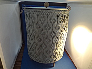 Large Footed Sewing Basket