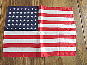 Forty Eight Star Silk Flag Scarf