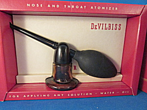Vintage Nose And Throat Automizer