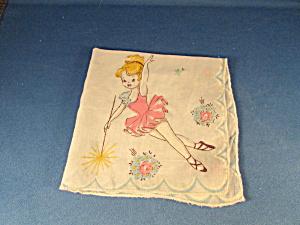 Pretty Ballerina Handkerchief (Image1)