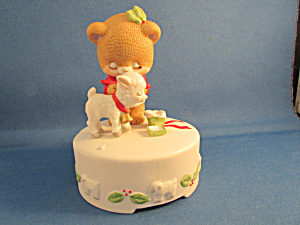 Little Bear And Lamb Music Box